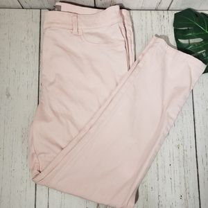 Chico's pink ankle pants